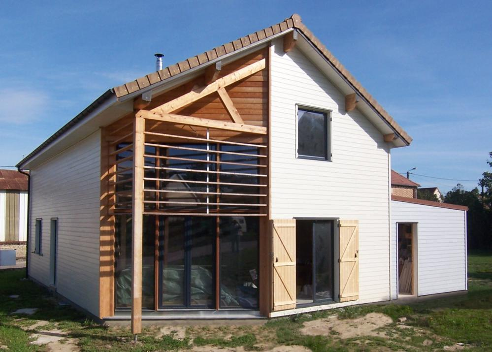 A l 39 aube des maisons bois constructeur nogent sur aube for Entreprise de construction maison en bois