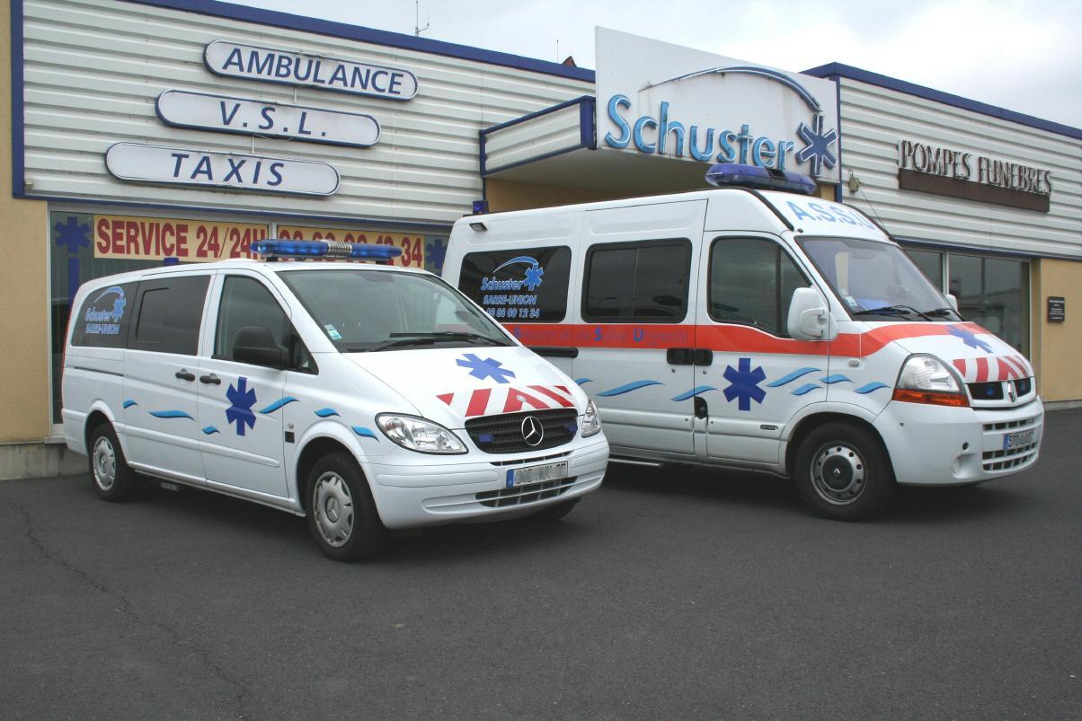 Réalisation Ambulances schuster