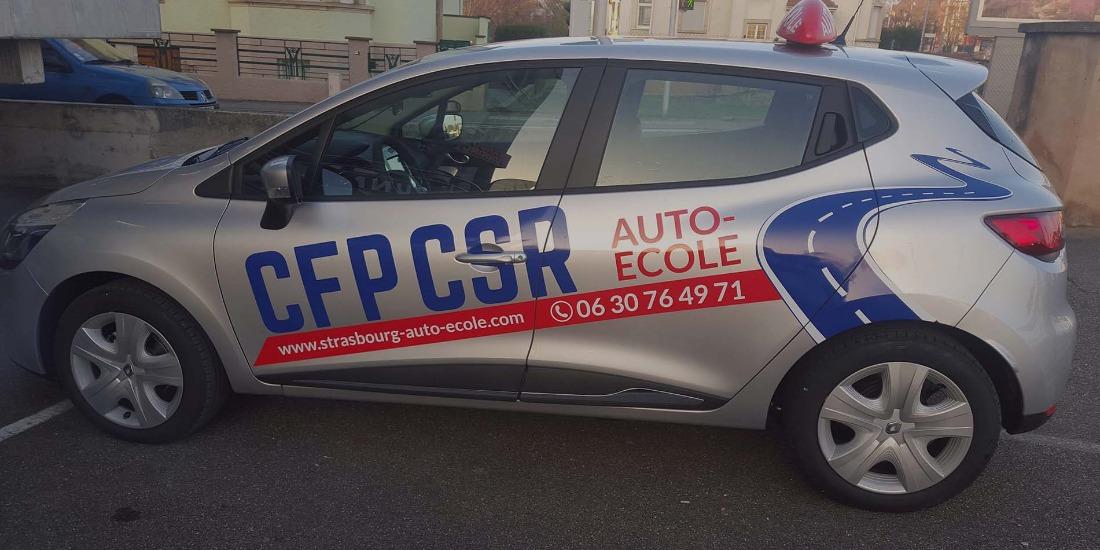 Réalisation AUTO-ECOLE CFP-CSR