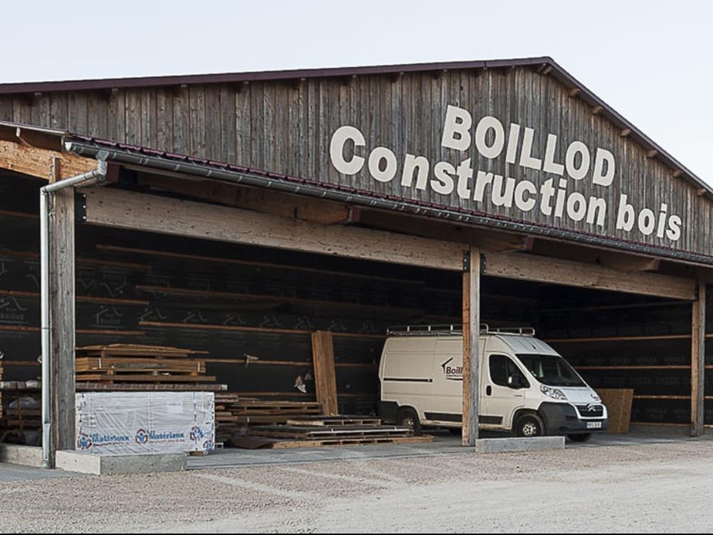 Réalisation BOILLOD CONSTRUCTION BOIS