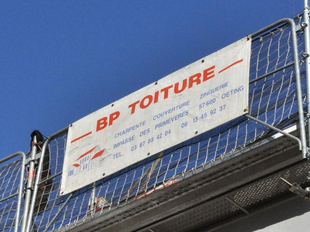 Réalisation BP TOITURE SAS