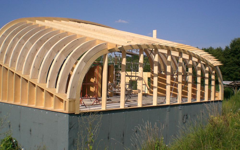 Charpentes fritsch entreprise de charpentes soultzeren for Entreprise de construction maison en bois