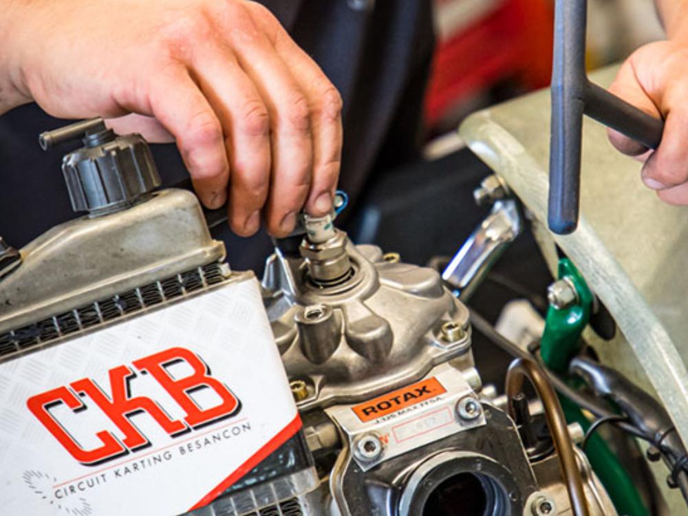 Réalisation CKB (circuit karting Besançon)