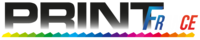 Logo PRINT-FRANCE - GLIN DESIGN