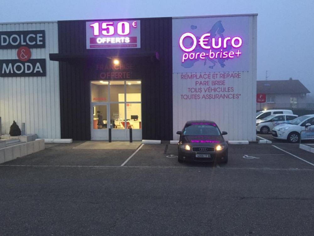 Réalisation 0 Euro Pare Brise Plus - Mulhouse
