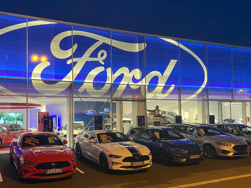 Réalisation FORD ALLIANCE AUTOMOBILES