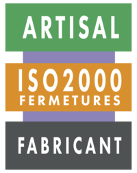 Logo ARTISAL ISO 2000 FERMETURES CHARTRES