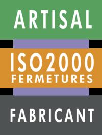 Logo ARTISAL ISO 2000 FERMETURES
