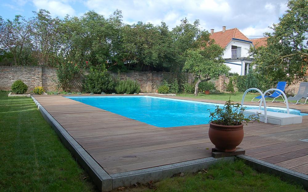 Koezle paysage entreprise de paysagisme la wantzenau for Construction piscine zone verte