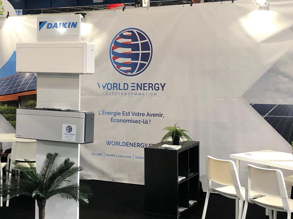 Réalisation world energy